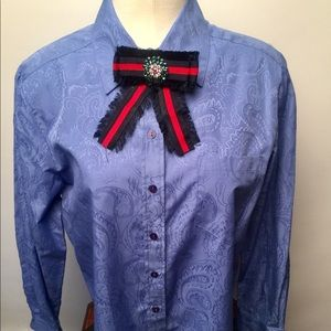 Beautiful Allison Daley blouse Sz 12